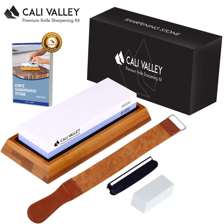 Amazon.com: Cali Valley – Piedra afiladora de cuchillo ...