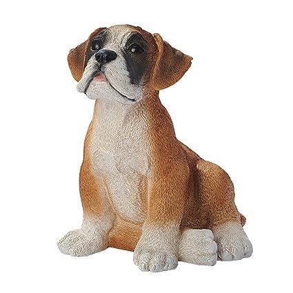 Amazon Com Design Toscano Boxer Puppy Dog Statue Home Kitchen