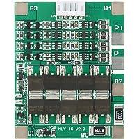 Tablero de protección de batería, controlador de carga de batería de litio 4S 50A 3.2V LiFe Batería BMS PCB Board