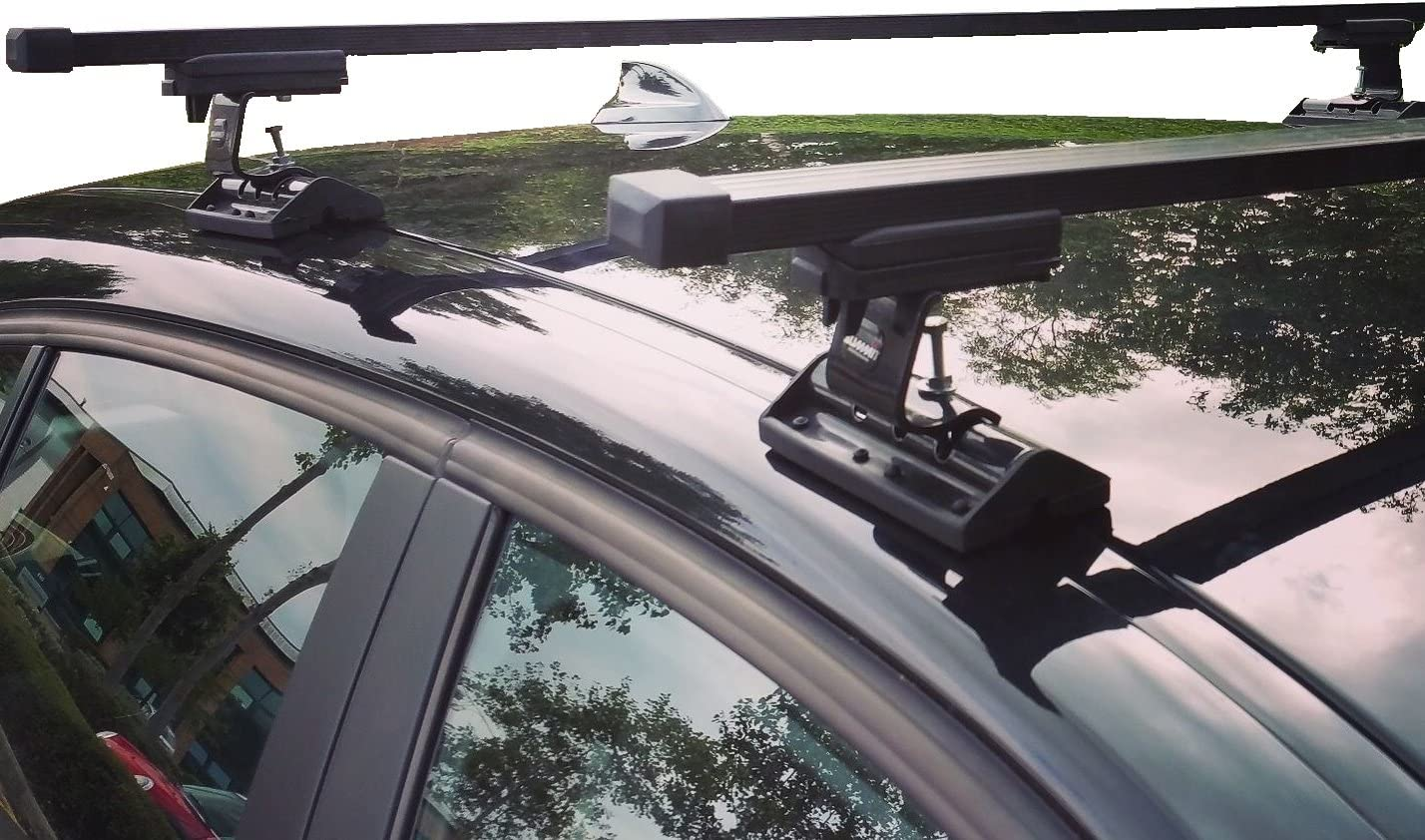 BM Xtremeauto MAZDA 3 5 Doors 2014-2016 Sturdy Durable Steel Car Roof Bar Rack