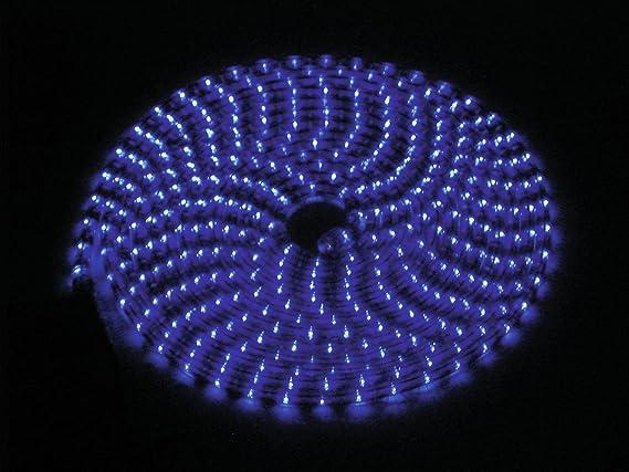 RUBBERLIGHT RL1-230V blau 9m Deko Beleuchtung Licht Schlauch