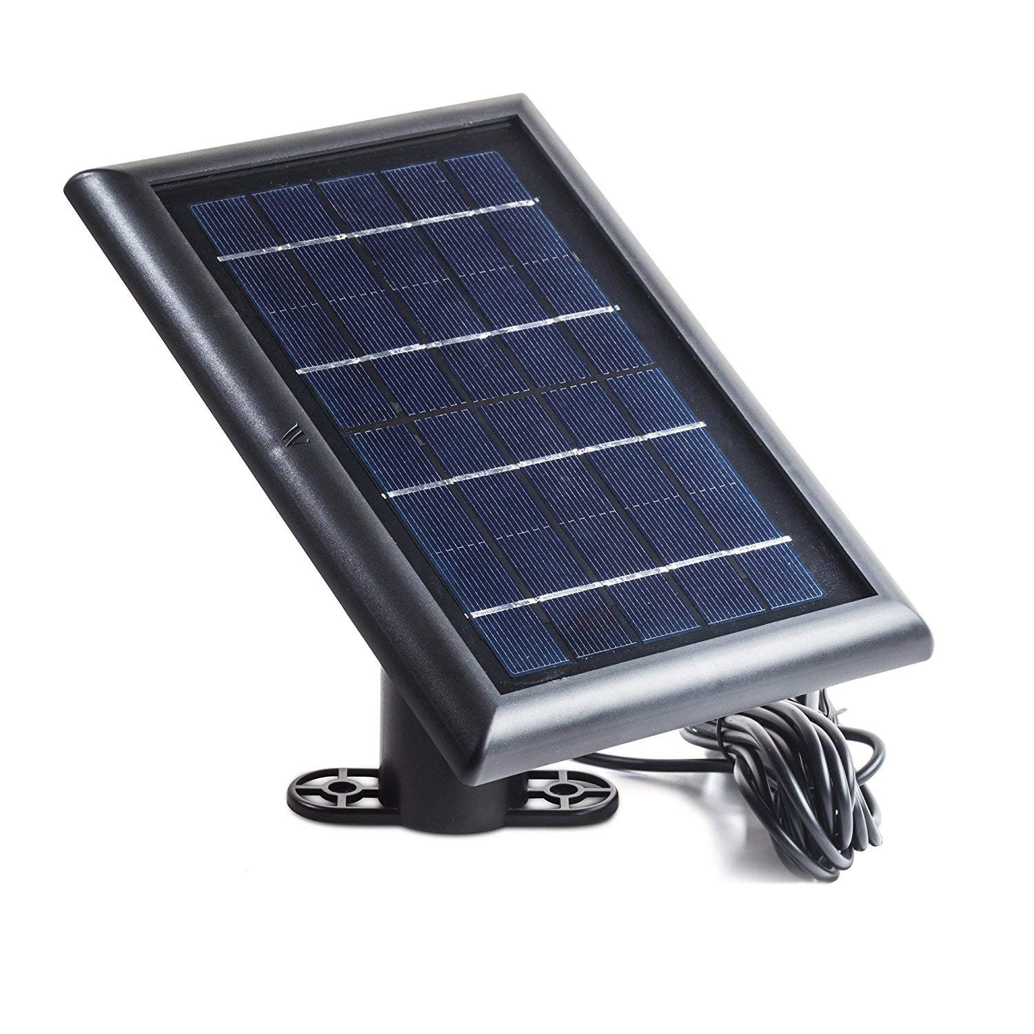 Solar Panel Compatible with Arlo Ultra - Power Your Arlo Surveillance Camera continuously (Black) by Wasserstein (Image #4)
