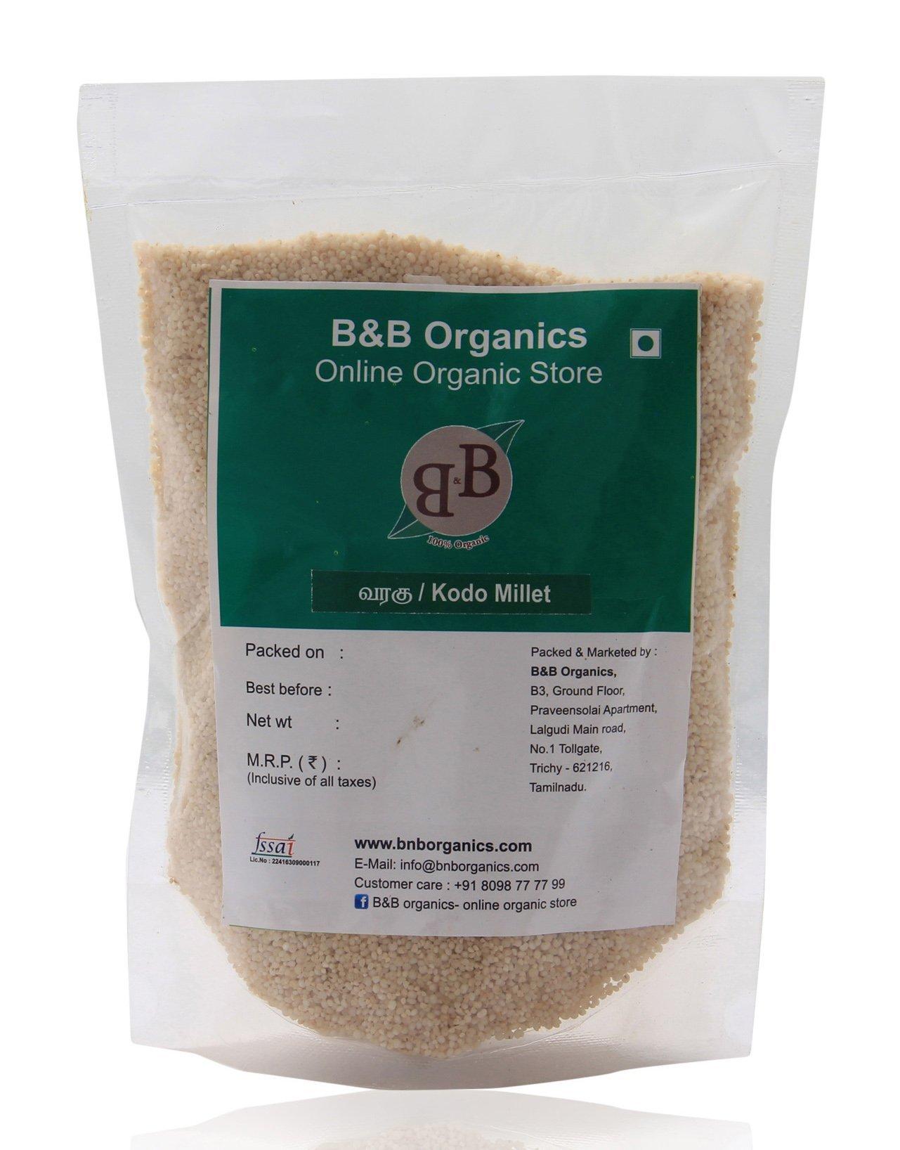 B&B Organics Kodo Millet 10 kg