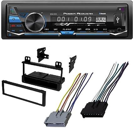 Amazon com: PowerAcoustik PL-81BP 1-DIN FM/AM & MP3 Car