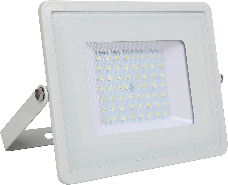 115 x 108 x 26 mm V-TAC VT-10 LED Proyector con SMD Chip Samsung Blanco Aluminio