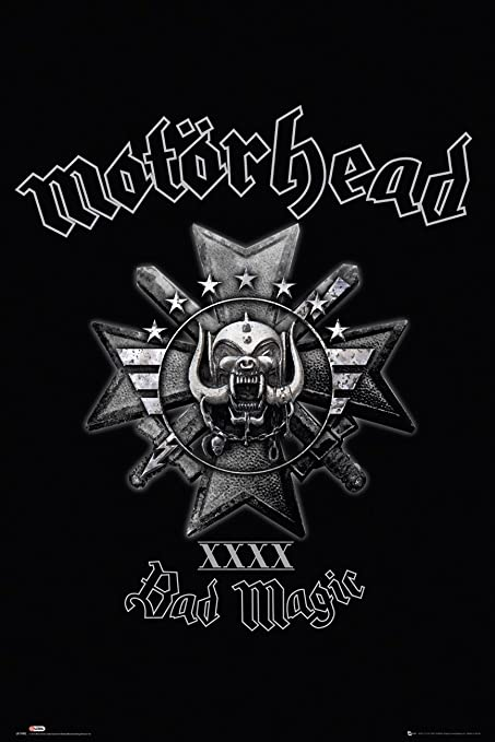 Motorhead GB Eye, Bad Magic, Maxi Poster, 61x91.5cm: Amazon ...