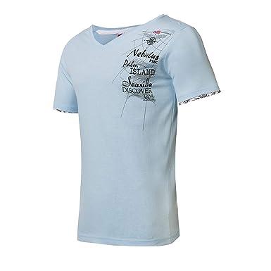 Nebulus P1236, Camiseta Manga Corta para Hombre, Cielo, XL: Amazon ...
