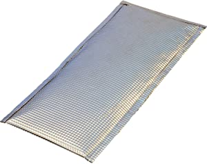 "Heatshield Products 110614 Inferno Shield 6"" x 14"" Aluminum Heat Shield"