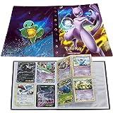 Pokemon Card Folder, Trading Card Album Cards Holder Binder for Cards Album Book Best Protection GX EX Box (Mewtwo)