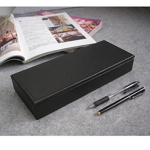 Amazon.com : KINGFOM Leatherette Pencil Case, Desk Accessories & Workspace Organizers For Stationery, Pencils, Pens, Office Supplies, Organization, ...