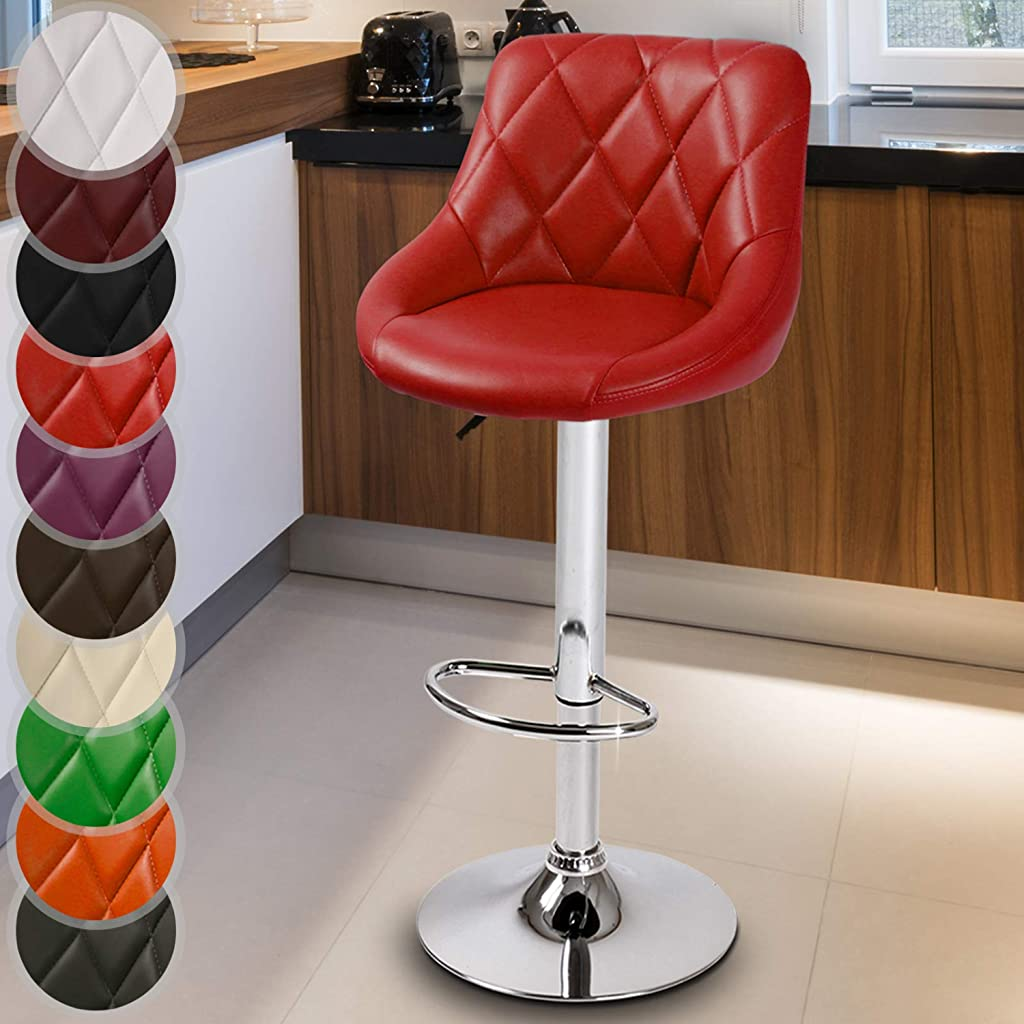 Miadomodo LBHK04 Red Bar Stool