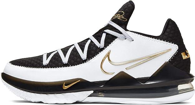 Amazon.com   Nike Lebron Xvii Low Mens Basketball Shoes Cd5007-101   Basketball