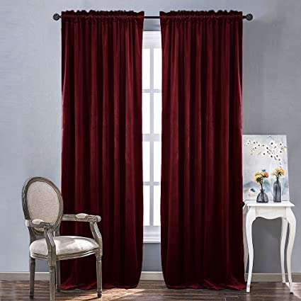 elm velvet dusty products cotton curtain blush c west luster