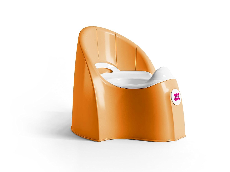 Toilettentrainer coral OkBaby Pascha anatomische Kindert/öpfchen Kinder Toilette