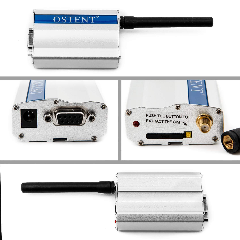 OSTENT GSM/GPRS/Edge/WCDMA/UMTS/HSDPA/HSPA+/FDD-LTE 4G Modem SIMCOM