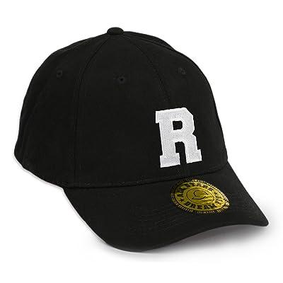 (R) - New Baseball Snapback Dream Fit Cap Flexfit Letter A-Z Trucker Hat Caps Snap back: Coche y moto