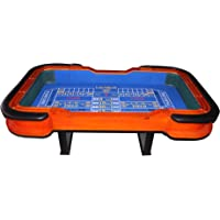"""IDS 93"""" Craps Table with Diamond Rubber Blue"""