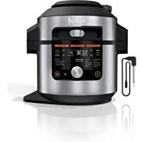 Ninja OL701 Foodi 14-in-1 8-qt. SMART XL Pressure Cooker Steam Fryer with SmartLid, Stainless Steel/Black