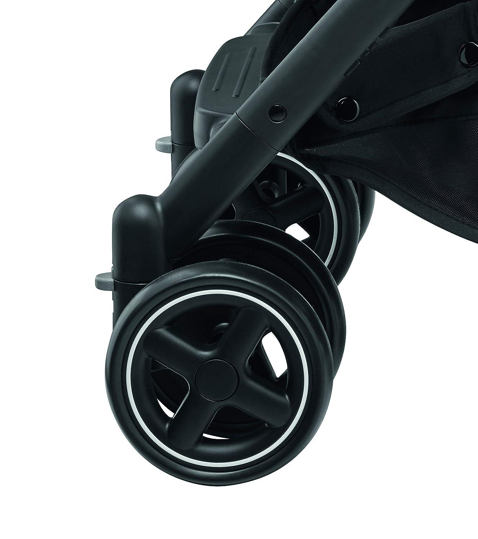 color negro Cochecito ultra compacto desde el nacimiento hasta los 3,5 a/ños 0-15 Kg B/éb/é Confort LARA Nomad Black