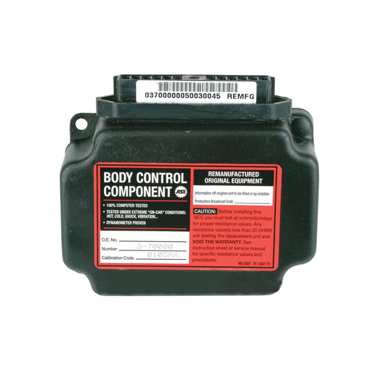 Cardone 73-80025 Remanufactured Body Control Computer A173-80025