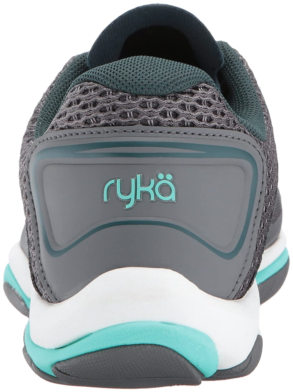 Ryka Trainer Women's Influence 2.5 Cross Trainer Ryka B01MZI3CRC 11 W US|Grey/Teal e00121