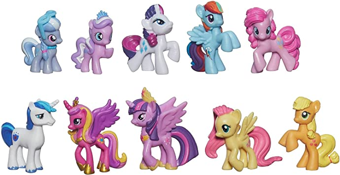 my little pony friendship is magic cutie mark magic princess twilight sparkle friends mini collection by my little pony