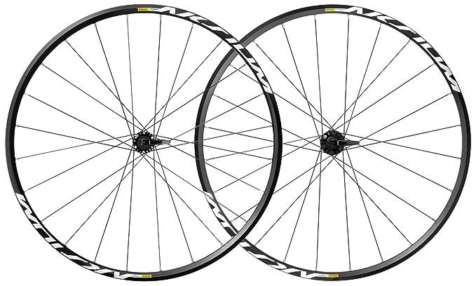 Amazon Com Mavic Aksium 17 Centerlock Qr M11 Wheelset Sports