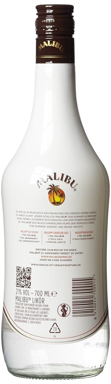 Malibu Rum 70cl Amazon Co Uk Beer Wine Spirits