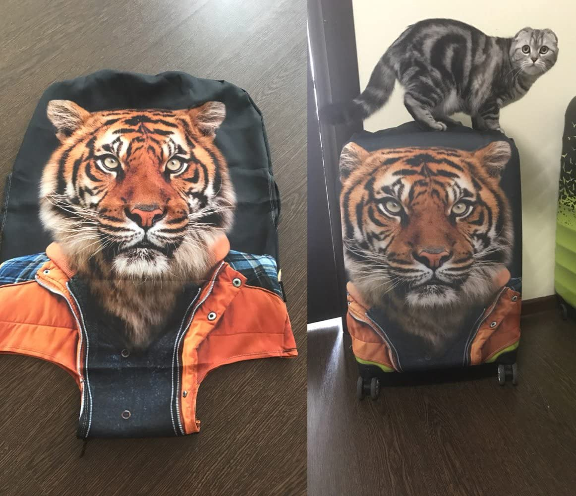 LedBack Fashion 3D Galaxy Luggage Protective Bag Spandex Cover with Zipper