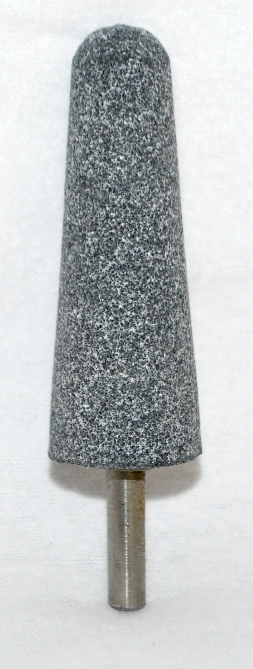 Lot of 5 Large 2 3/4'' A-3 Cone Mounted Point Fine Grit Abrasive Grinding Stone Bit with 1/4'' Shank (5)