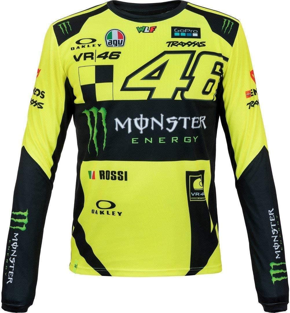 Valentino Rossi Herren Maglia T-Shirt