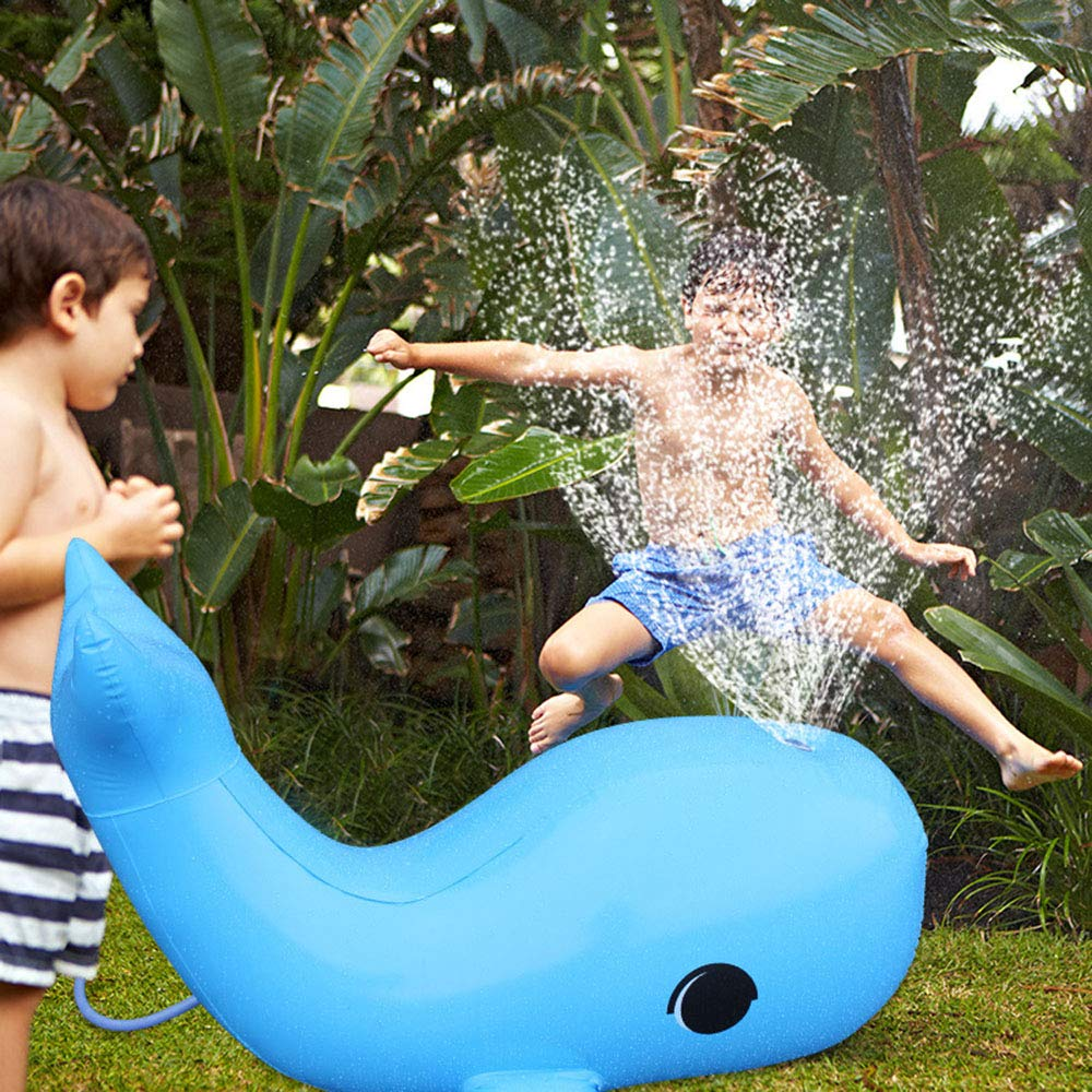 YIAIY Spray De Agua Inflable Delfín, Juguete Inflable ...