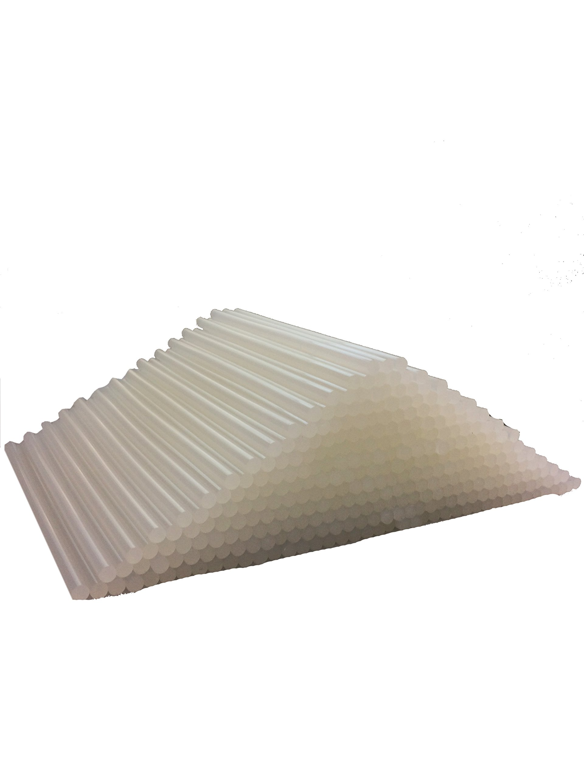 7 lbs or 25 lbs Clear Hot Melt Glue Sticks for Different Purposes - DIY Projects, Small Crafts, Sealing and Quick Repairs for Home or Office (.30'' x 8'' inches - 25 lbs)