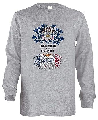 Tenacitee Babys Living in Utah Iowa Roots Shirt