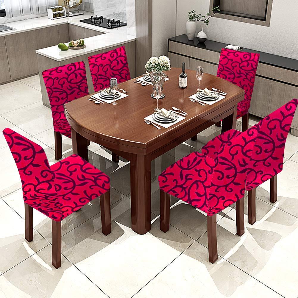 de Licra para sillas Altas Sable Home Fundas para sillas de Comedor el/ásticas Lavables extra/íbles