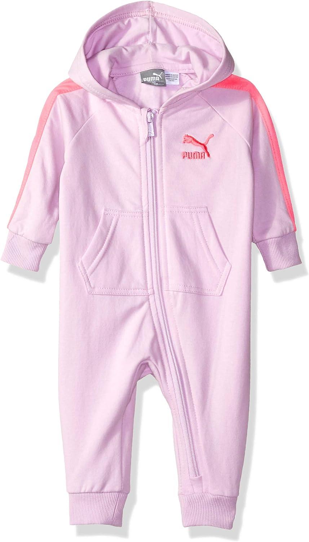 3-6M PUMA Girls Baby Fleece Coverall