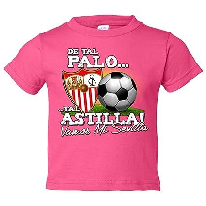 Camiseta niño de tal palo tal astilla Vamos mi Sevilla de ...