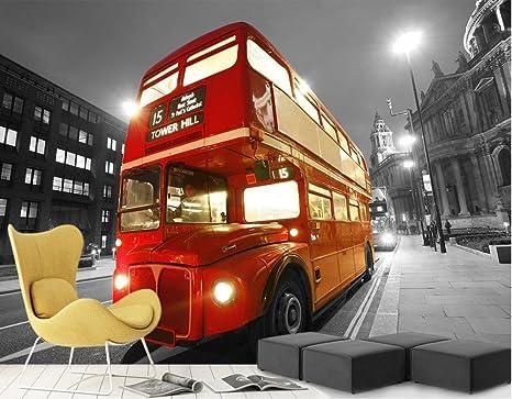 LWCX Sfondi per soggiorno Londra double-decker bus street night ...