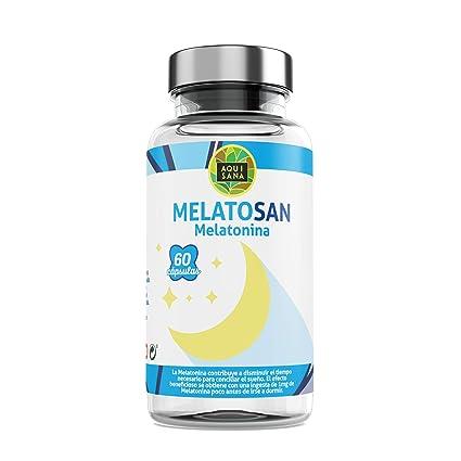 Melatonina + Valeriana + Pasiflora + Melisa - Mejora la calidad del sueño - Relajante 100% natural - Extractos de plantas para descansar – Potente ...