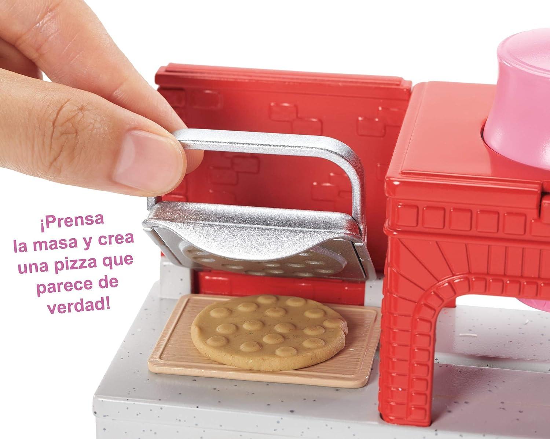 Amazon.es: Barbie Quiero Ser pizza chef, muñeca y accesorios de ...