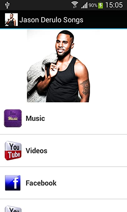 Amazon com: Jason Derulo Songs: Appstore for Android