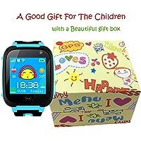 Niños Inteligente Relojes,GPS Tracker para Niños con cámara de Podómetro con Pantalla Táctil Llamadas SIM Anti-perdida…