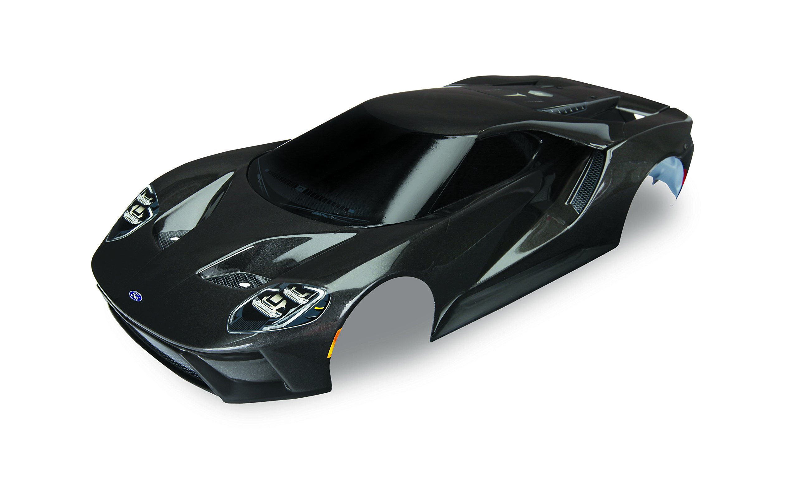 Traxxas Black Painted Ford Gt Body (1: 10 Scale) Vehicle
