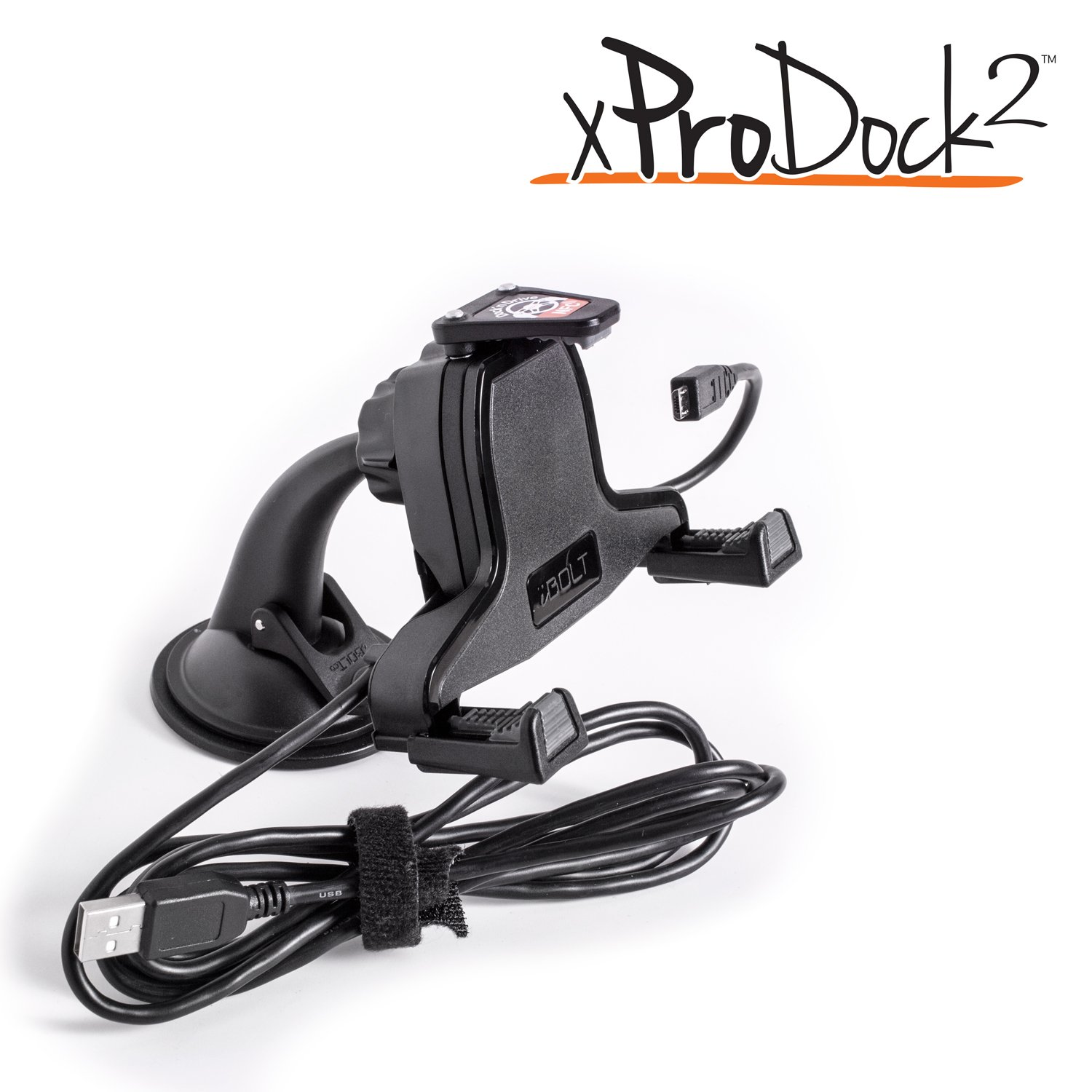 iBOLT xProDock NFC Connect Kit car mount / Holder with New NFC integrated Latch works with Samsung Galaxy S7 , S7 edge , S6 / S6 edge / S5 / S4, Note 5 / Note 4, HTC, Google, LG, and Sony handsets.