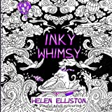 Inky Whimsy: Playful, whimsical adult colouring: Volume 9 (Inky colouring books)