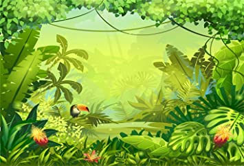 10x12 FT Backdrop Photographers,Art with Jazz Saxophonist Playing at River Bank Palm Trees Bungalow Reflection Background for Kid Baby Boy Girl Artistic Portrait Photo Shoot Studio Props Video Drape