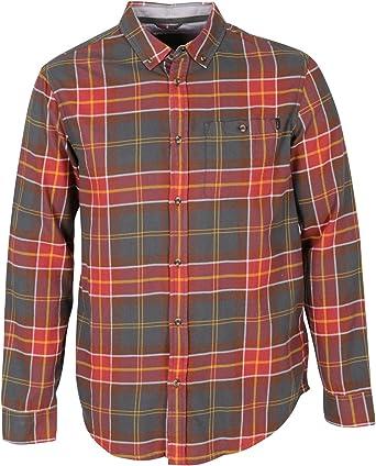 Bench Hombre Guard Cuadros Camisa, Hombre, BMAA1242, Gris ...