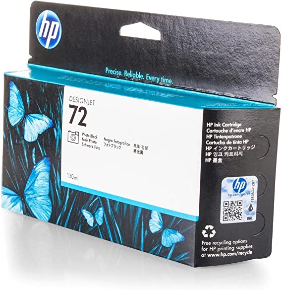 Original HP C9370A / 72 tinta (negro foto, volumen 130 ml) para ...