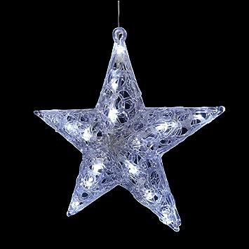 Beleuchteter led stern acrylstern acrylfigur für innen und außen ...