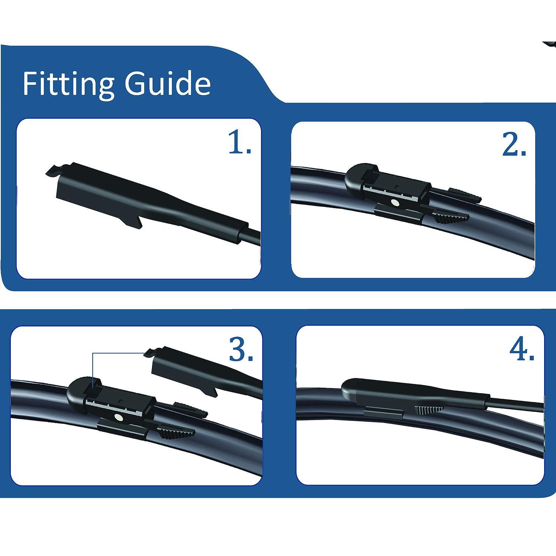 C-Max/ /C-Max MPV 2010-2015 Windscreen Wiper Blade Kit